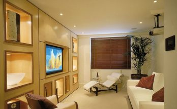 a home with Lutron lighting