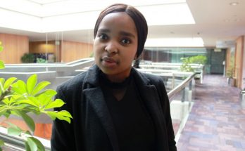 a women Vuyile Ngqulunga