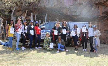 the women from the #WomenWithDrive campaign
