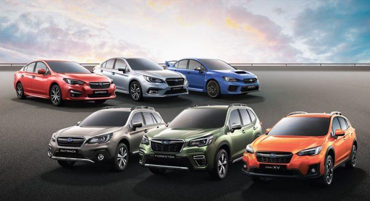 new Subaru models
