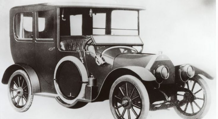 Mitsubishi Model A historic car