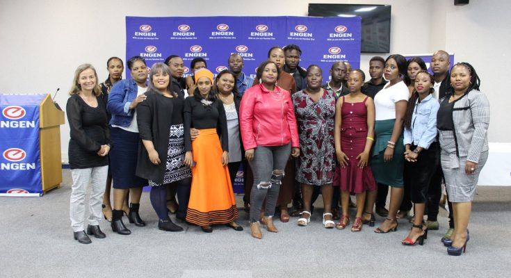Graduates from The Engen Computer School in Wentworth