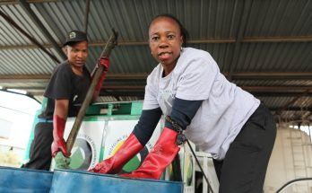 Jeminah Mofokeng – a single mother who has conquered a male-dominated job