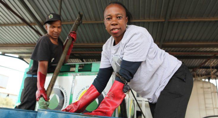 Jeminah Mofokeng – a single mother who has conquered a male-dominated job