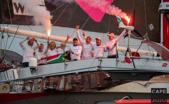 South African racing trimaran #LoveWater has won the celebrated Cape2Rio sailing race