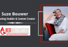 Suzette Bouwer owner and creator of RedMatchstick