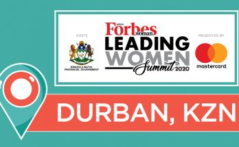 2020 Forbes Women Africa Leading Women Summit poster