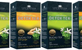 Buchu Detox Tea range