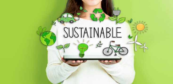 bigstock-Sustainable-With-Woman-Holding-235654084