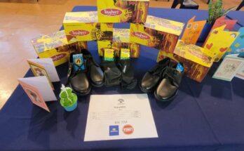 Engen Monte Vista Step by Step school shoe campaign